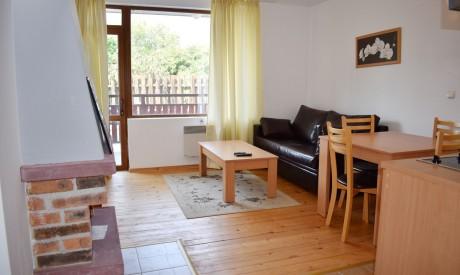 Двустаен апартамент под наем в Банско