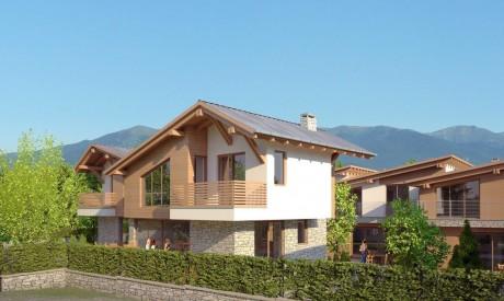 Луксозни къщи за продажба до лифта в Банско