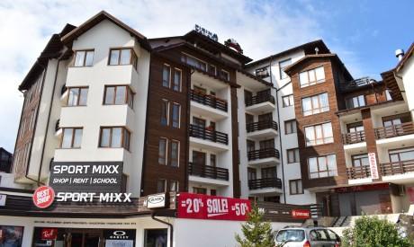 Апартамент в центъра на Банско в близост до лифта с 2 спални