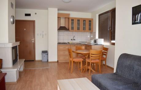 Двустаен апартамент срещу Кемпински, Банско