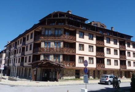 Двухкомнатная квартира в гостиничном комплексе Vihren Palace, Банско